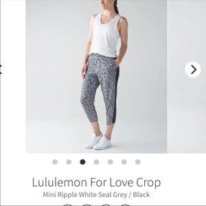 lululemon athletica Pants - Lululemon Crop